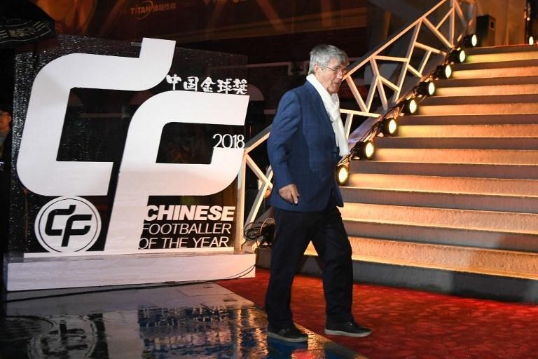 CHINA SHANGHAI FOOTBALLER OF THE YEAR AWARD