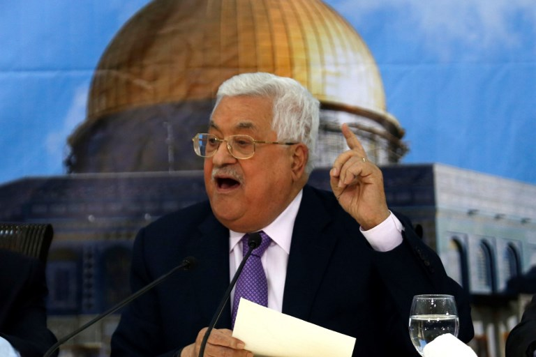 PALESTINIAN - ISRAEL - CONFLICT - ABBAS