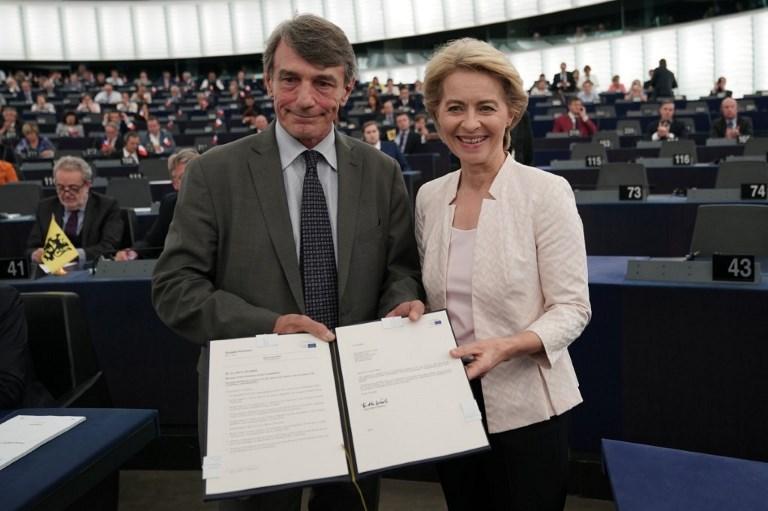 Von der Leyen is the new President of the EU Commission