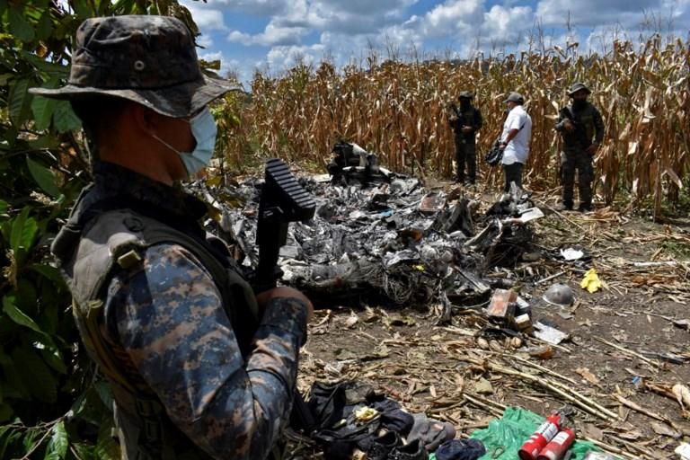 GUATEMALA - VENEZUELA - AIR - ACCIDENT - DRUGS